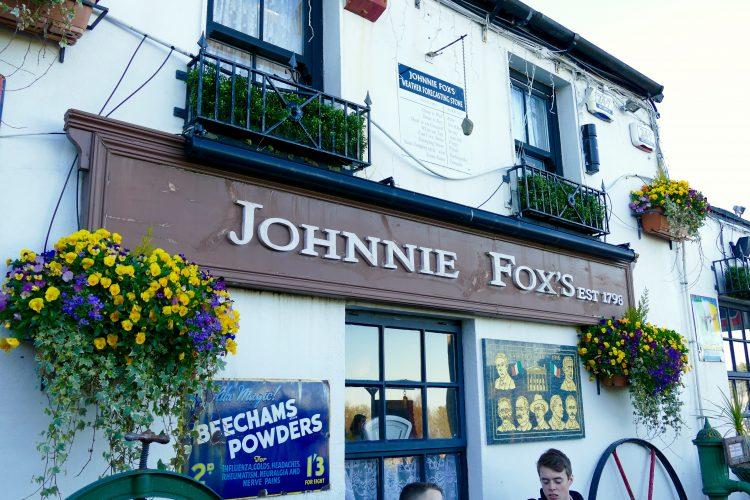 Besök The Johnnie Fox Pub