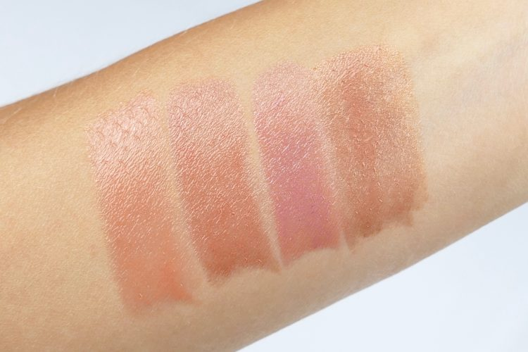 swatches color riche shine