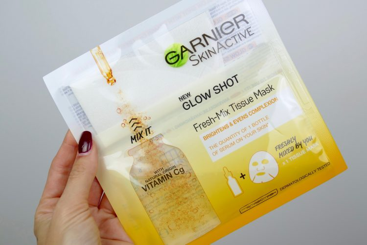 C vitamin mask Glow Shot