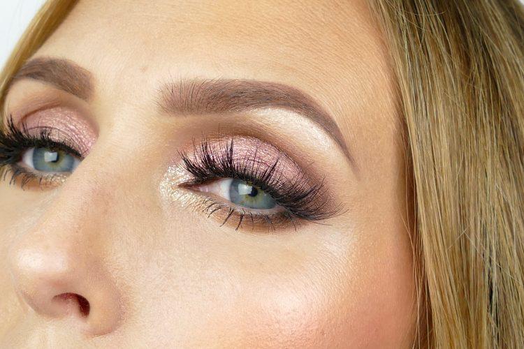 Höst makeup i rose