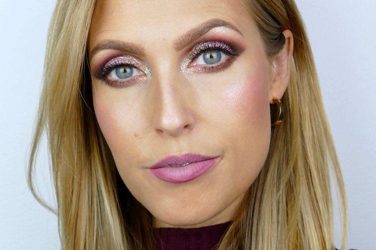 glittrig makeup