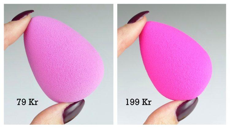 lyx budget makeup svamp