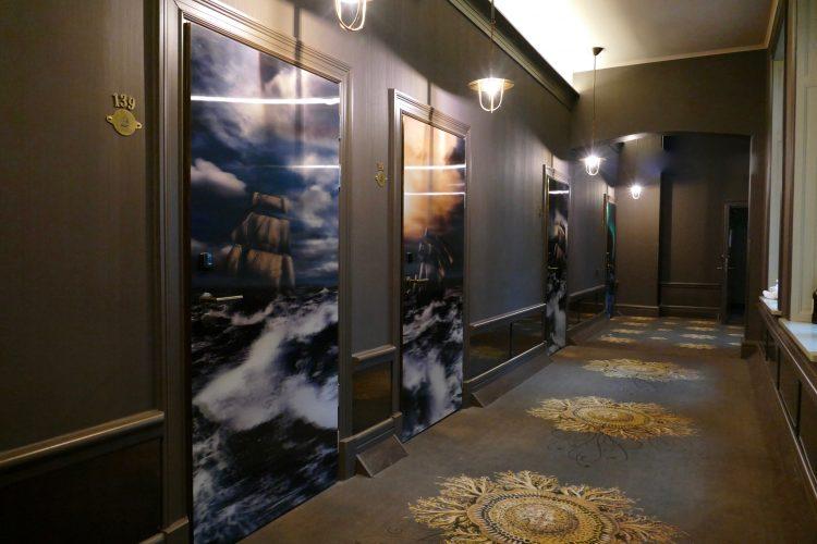 korridor stora hotellet umeå