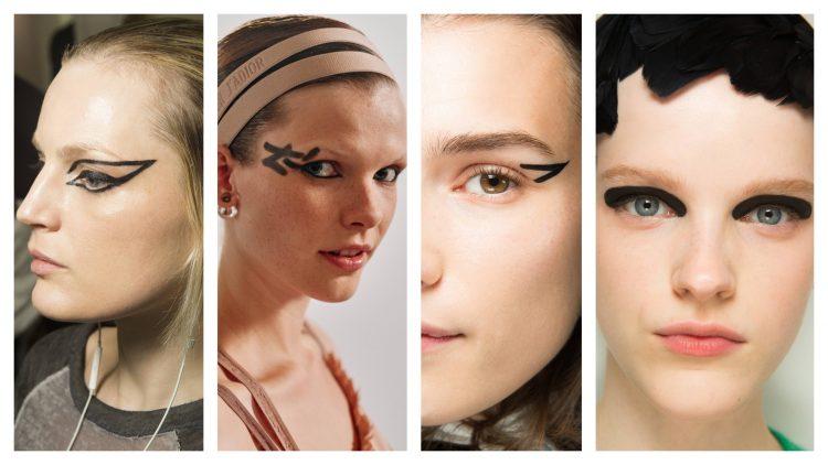 arty eyeliner trend