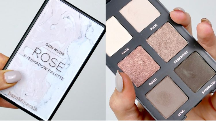 Gen nude Eyeshadow palette Rose