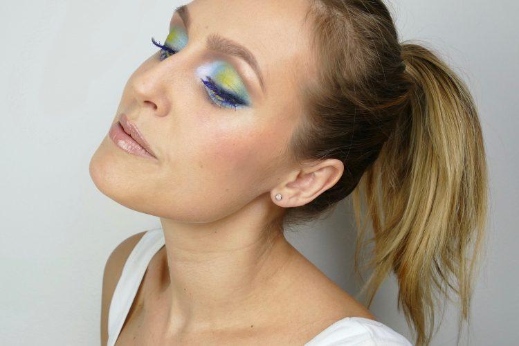 Färgglad mascara
