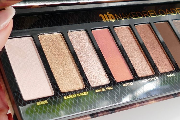 Naked Reloaded Palette urban