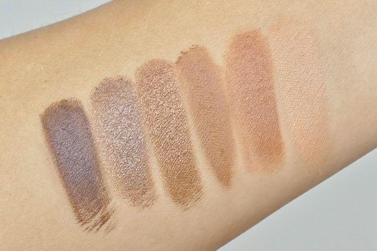 Naked Reloaded swatches