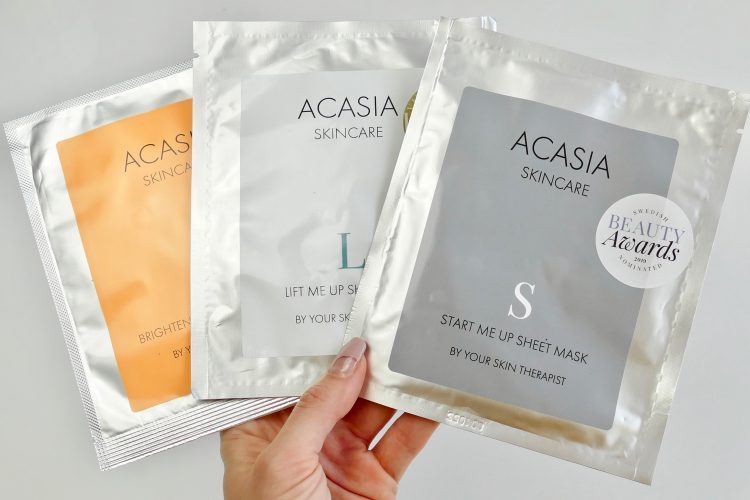 acasia skincare sheet masks