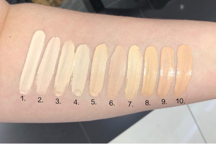 Swatches shape tape