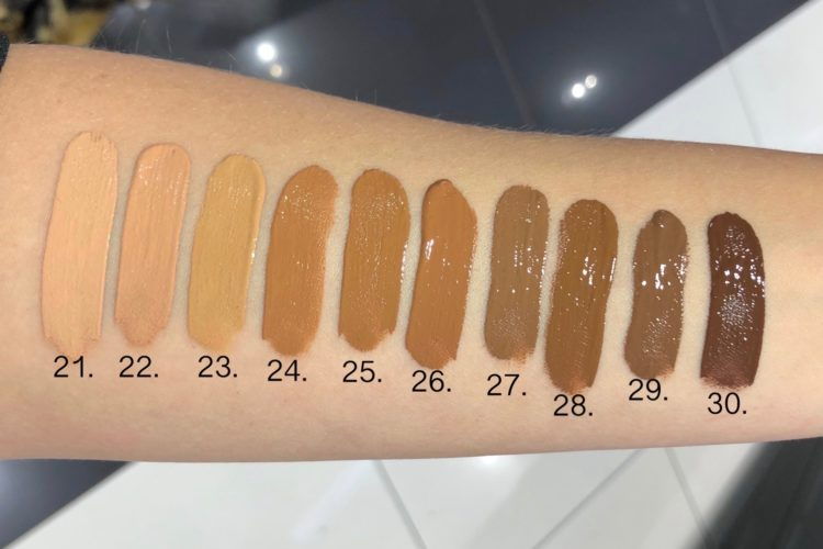 swatches shape tape concealer