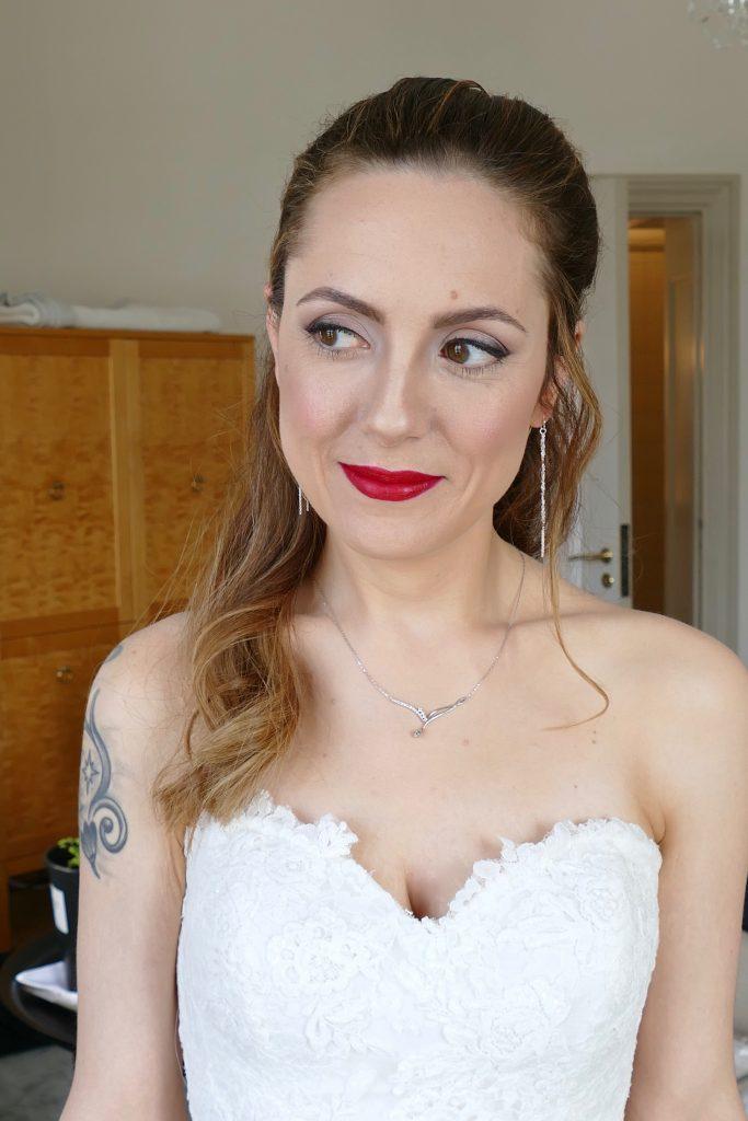 bröllop röra läppar