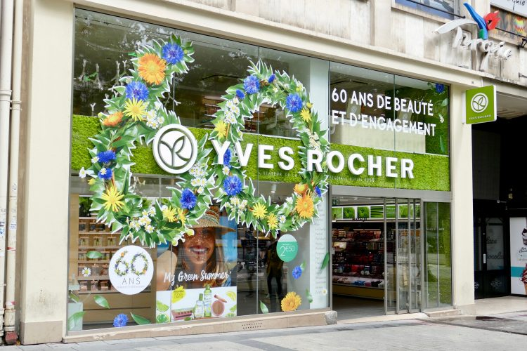 yves rocher champs elysees
