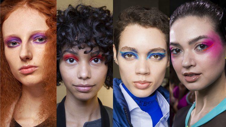 starka färger makeup
