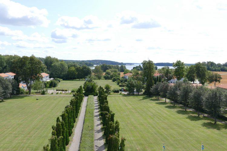 utsikt haga slott enköping