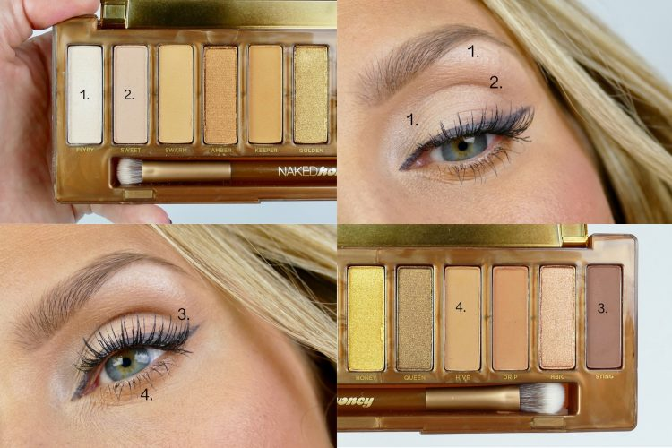 makeup Naked Honey Palette