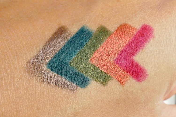 Swatches Fusion Crayons kit
