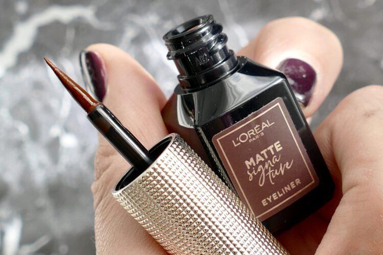 Matte Signature Eyeliner marron
