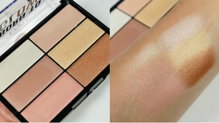 Swatches Born To Glow Highlighting