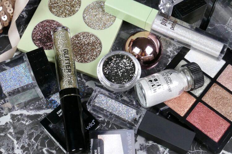 tips glitter smink nyår