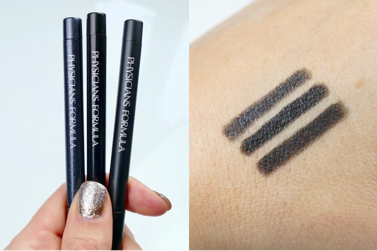 Eye Booster Gel Eyeliner Trio swatch
