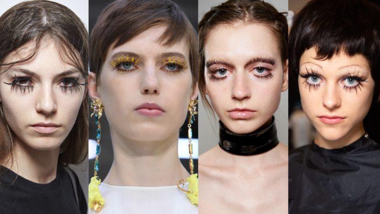ss20 trender makeup fransar