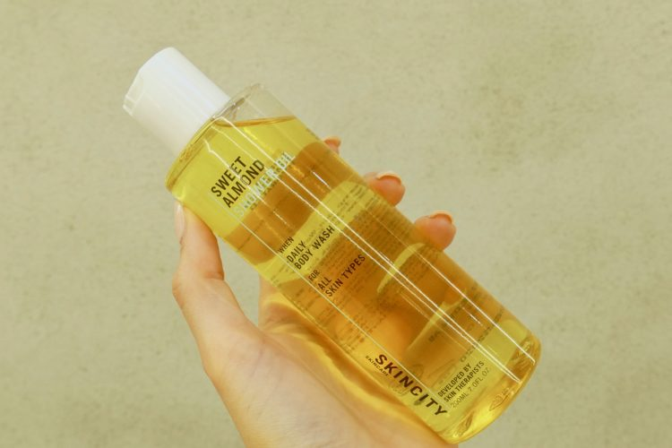 Sweet Almond Shower Oil