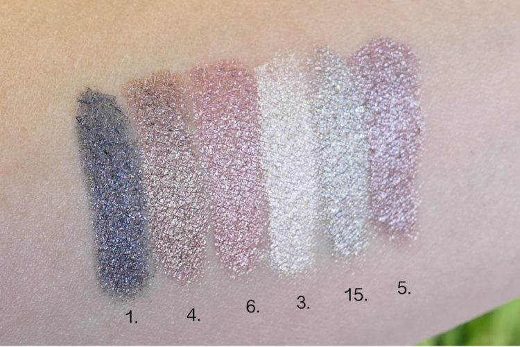 Ombre Blackstar swatches