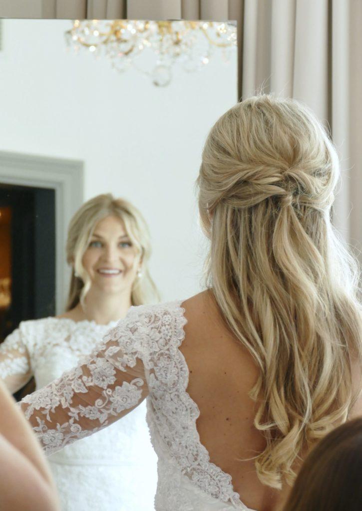 bröllopshår inspo