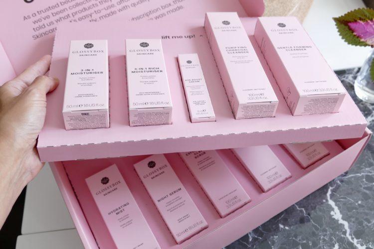 glossybox hudvård