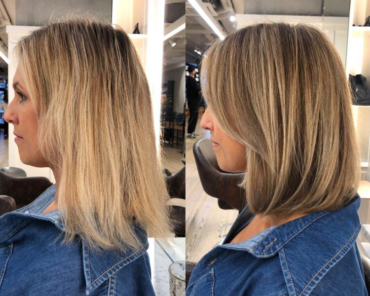 lyko concept hair före och efter