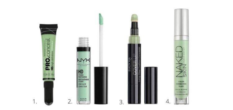 grön concealer