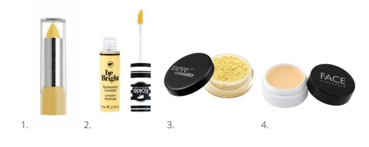 yellow gul concealer