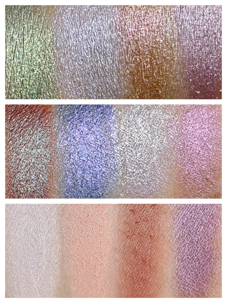 Stoned Eyeshadow Palette swatches