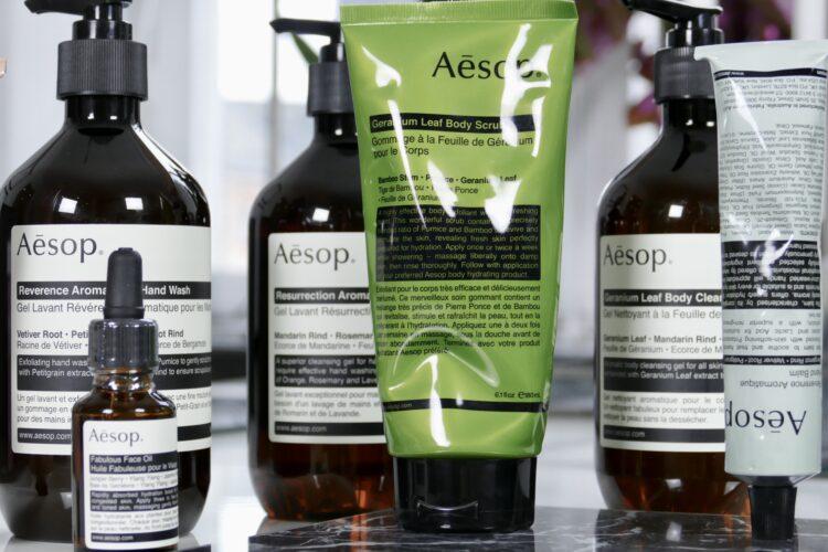 aesop online hudvård