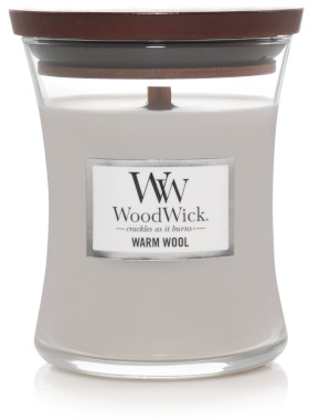 wood wick warm wool