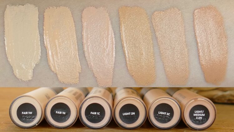 Original liquid mineral concealer swatch